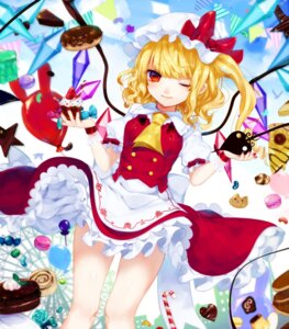 Rating: Safe Score: 22 Tags: daimaou_ruaeru flandre_scarlet touhou wings User: Mr_GT