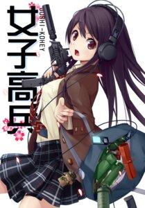 Rating: Safe Score: 50 Tags: gun headphones meso-meso seifuku weapon User: donicila
