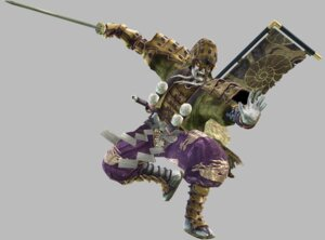 Rating: Safe Score: 3 Tags: armor japanese_clothes male samurai soul_calibur soul_calibur_iv sword weapon yoshimitsu User: Yokaiou