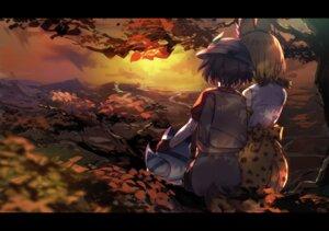 Rating: Safe Score: 31 Tags: animal_ears kaban_(kemono_friends) kemono_friends landscape serval tail yamaorimon User: mash
