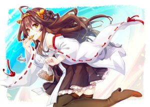 Rating: Safe Score: 37 Tags: heels japanese_clothes kantai_collection kongou_(kancolle) naruhodo_usagi sarashi thighhighs User: mash