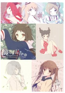 Rating: Safe Score: 23 Tags: amamiya_rizumu dress fukuhara_an kokoro_ga_sakebitagatterunda. mikakunin_de_shinkoukei mitsumine_mashiro naruse_jun nase_yukana renjouji_bell seifuku shiratama shiratamaco sweater User: Twinsenzw