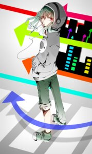 Rating: Safe Score: 8 Tags: hakuri headphones kido_tsubomi vocaloid User: charunetra