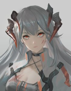 Rating: Questionable Score: 22 Tags: arknights blood cleavage horns saria_(arknights) youyi_(jiam009) User: Dreista