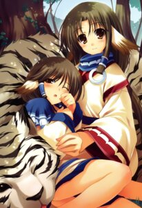Rating: Safe Score: 42 Tags: animal_ears aruruu eruruu mukkuru tomose_shunsaku utawarerumono User: Share