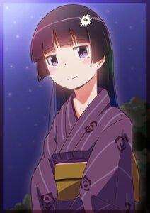 Rating: Safe Score: 24 Tags: gokou_ruri ore_no_imouto_ga_konnani_kawaii_wake_ga_nai suzmeco yukata User: 23yAyuMe