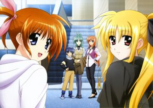 Rating: Safe Score: 14 Tags: arf chrono_harlaown fate_testarossa lindy_harlaown mahou_shoujo_lyrical_nanoha mahou_shoujo_lyrical_nanoha_a's pantyhose takamachi_nanoha User: xo1fantasyx