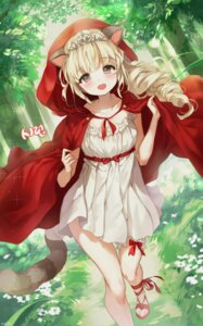 Rating: Safe Score: 41 Tags: animal_ears dress garter little_red_riding_hood_(character) mullpull tail User: Mr_GT