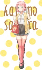 Rating: Safe Score: 29 Tags: 5ya haruno_sakura naruto thighhighs User: Mr_GT