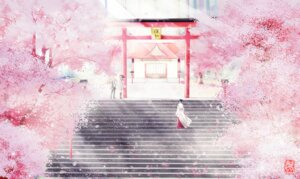 Rating: Safe Score: 21 Tags: iki_hiyori landscape miko noragami sanaa seifuku yato yukine User: mattiasc02