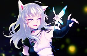 Rating: Safe Score: 18 Tags: animal_ears cleavage fairy final_fantasy final_fantasy_xiv miqo'te pointy_ears tagme wings User: sym455