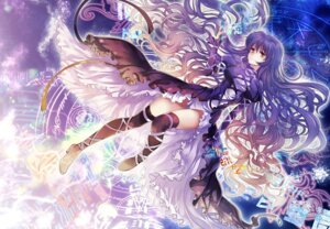 Rating: Safe Score: 62 Tags: dress hijiri_byakuren jpeg_artifacts pico_(artist) thighhighs touhou User: blooregardo