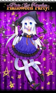 Rating: Safe Score: 28 Tags: animal_ears cleavage halloween ku pantyhose tail witch User: fairyren