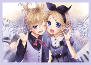 Rating: Safe Score: 14 Tags: dress hima_(ab_gata) kagamine_len kagamine_rin vocaloid User: Radioactive