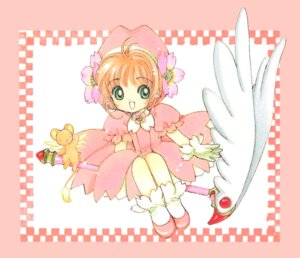 Rating: Safe Score: 4 Tags: card_captor_sakura clamp dress kinomoto_sakura weapon User: Omgix