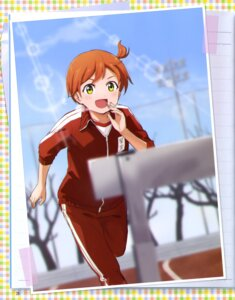 Rating: Safe Score: 8 Tags: gym_uniform hoshizora_rin love_live! shibasaki_shouji User: drop