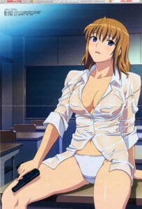 Rating: Questionable Score: 21 Tags: agent_aika aika_zero crease dress_shirt gun pantsu see_through sumeragi_aika yamauchi_noriyasu User: admin2