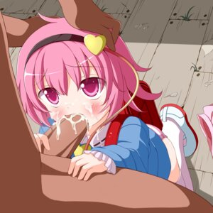 Rating: Explicit Score: 69 Tags: cum fellatio komeiji_satori loli nikku pantsu penis shimapan thighhighs touhou uncensored User: Chrisiebear