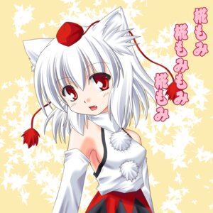 Rating: Safe Score: 7 Tags: animal_ears inubashiri_momiji tora_(artist) touhou User: konstargirl