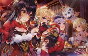 Rating: Questionable Score: 6 Tags: amber_(genshin_impact) asian_clothes cgd-orange cleavage genshin_impact jean_(genshin_impact) lumine_(genshin_impact) paimon_(genshin_impact) tagme User: BattlequeenYume
