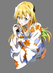 Rating: Safe Score: 23 Tags: gamers! nakano_keiya tendou_karen transparent_png yukata User: Mekdra