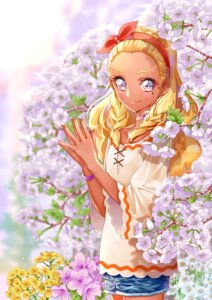 Rating: Safe Score: 8 Tags: amamiya_erena pretty_cure star_twinkle_precure yuutarou_(pixiv822664) User: charunetra