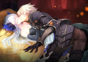 Rating: Safe Score: 69 Tags: armor cleavage dress gin_(oyoyo) gwendolyn odin_sphere oswald User: Mr_GT