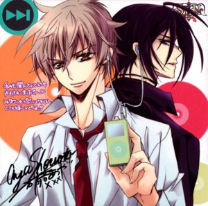 Rating: Safe Score: 6 Tags: ichikawa_ren kuga_reizei male shouoto_aya s.l.h-stray_love_hearts User: Radioactive