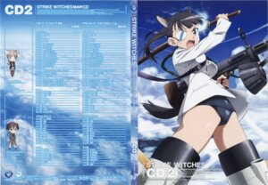 Rating: Questionable Score: 7 Tags: disc_cover sakamoto_mio screening strike_witches takamura_kazuhiro User: cross_of_haerts
