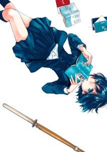 Rating: Safe Score: 9 Tags: bokura_wa_minna_kawaisou kawai_ritsu miyahara_ruri seifuku sword User: VNkiller