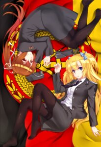 Rating: Safe Score: 34 Tags: mizuki_ame muvluv pantyhose schwarzesmarken uniform User: Mr_GT