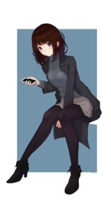 Rating: Safe Score: 44 Tags: chen_ghh heels pantyhose sweater User: mash