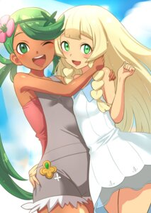 Rating: Safe Score: 14 Tags: dress lillie_(pokemon) mao_(pokemon) mumu pokemon pokemon_sm User: Mr_GT