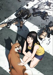 Rating: Questionable Score: 20 Tags: cleavage inuyashiki_last_hero mecha User: jerry801027