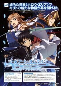 Rating: Safe Score: 17 Tags: asuna_(sword_art_online) kawakami_tetsuya kirito sword sword_art_online User: drop