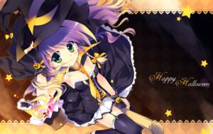 Rating: Safe Score: 28 Tags: cleavage dress halloween rei thighhighs wallpaper witch User: CPR