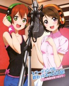 Rating: Safe Score: 35 Tags: headphones hoshizora_rin koizumi_hanayo love_live! User: yd6137