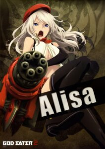Rating: Questionable Score: 67 Tags: arisa_iriinchina_amieera god_eater god_eater_2 no_bra thighhighs underboob weapon User: Radioactive
