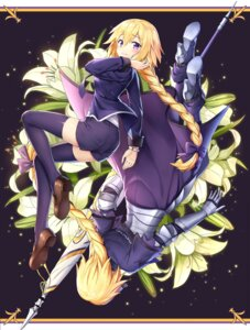 Rating: Safe Score: 37 Tags: armor drogoth fate/apocrypha fate/grand_order fate/stay_night heels jeanne_d'arc jeanne_d'arc_(fate) thighhighs User: nphuongsun93