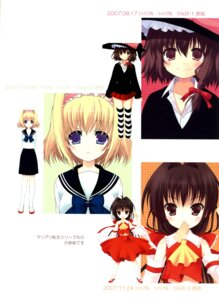 Rating: Safe Score: 5 Tags: alice_margatroid chocolate_cube hakurei_reimu miwa_futaba touhou User: Radioactive