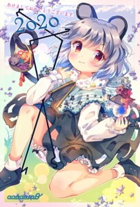 Rating: Safe Score: 11 Tags: amo animal_ears bloomers nazrin skirt_lift tail touhou User: Mr_GT