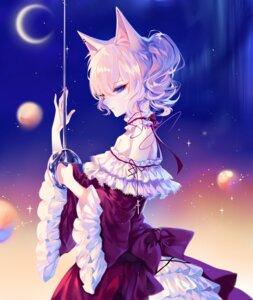 Rating: Safe Score: 28 Tags: animal_ears dress heterochromia nekomimi sheya sword User: Mr_GT