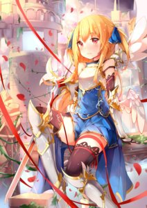 Rating: Safe Score: 61 Tags: armor mozhi sword thighhighs wings User: KazukiNanako