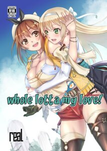 Rating: Safe Score: 13 Tags: as-special atelier_ryza breast_hold cleavage klaudia_valentz reisalin_stout thighhighs yuri User: mash