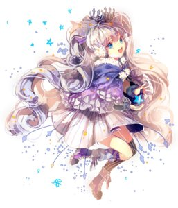 Rating: Safe Score: 22 Tags: dress fuyu_no_yoru_miku heels tagme vocaloid User: charunetra