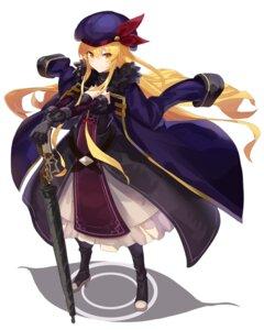Rating: Safe Score: 16 Tags: cleavage heels rin_falcon sword touhou yakumo_yukari User: RyuZU