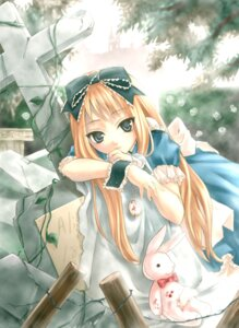 Rating: Safe Score: 29 Tags: alice alice_in_wonderland lolita_fashion nekou_izuru shiina_yuu User: Radioactive