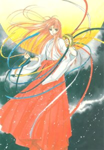 Rating: Safe Score: 3 Tags: card_captor_sakura clamp miko mizuki_kaho User: Omgix