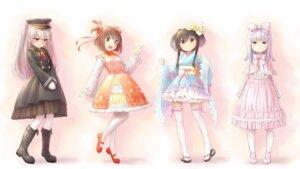 Rating: Safe Score: 24 Tags: amatsukaze_(kancolle) dress hatsukaze_(kancolle) kantai_collection lolita_fashion pantyhose thighhighs tokitsukaze_(kancolle) wa_lolita wamu_(chartreuse) yukikaze_(kancolle) User: Mr_GT