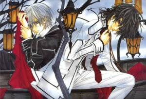 Rating: Safe Score: 10 Tags: hino_matsuri kiryuu_zero kuran_kaname male vampire_knight User: Radioactive